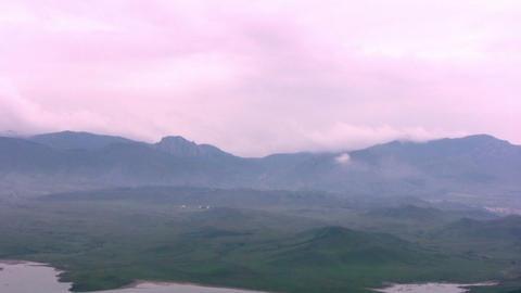 Pink Mist stock footage