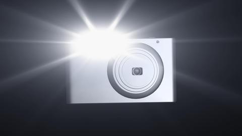 Flashing Camera VI Stock Video Footage
