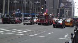 Manhattan Fire Engine Footage