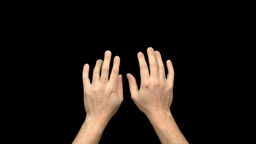 Touchscreen Gestures stock footage