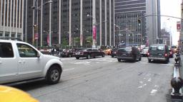 Manhattan Traffic 2 Stock Video Footage