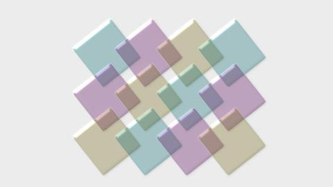 color transparent papers,PH test strip,plastic mosaics,3d form,disk.particle,mat Animation