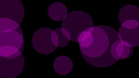 purple circle light,defocused circle lights drifting... Stock Video Footage