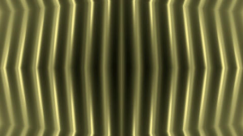 golden metal pillar,FRP energy field,stainless stripes background.particle,mater Animation