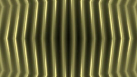 golden metal pillar,FRP energy field,stainless stripes... Stock Video Footage
