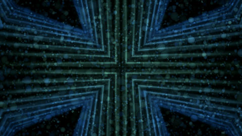 blue cross and flying bubbles,time tunnel.particle,material,texture,Fireworks,De Animation