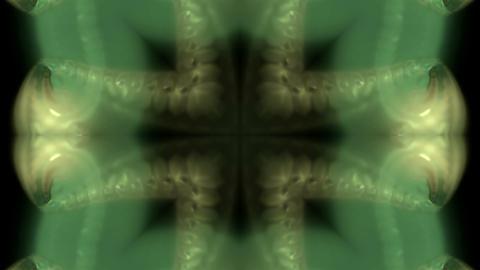 flower shape tunnel ripple transport ovule,Rippling water... Stock Video Footage