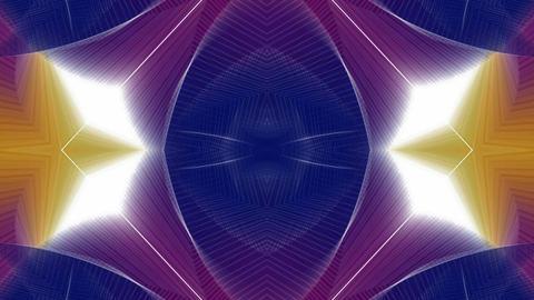 magic flower fancy pattern,fiber pulse,cell... Stock Video Footage