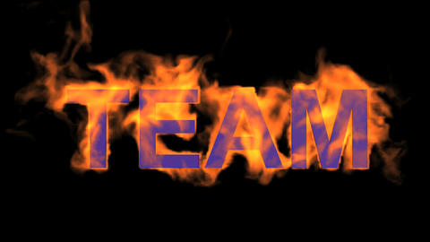 flame team text,fire business key words Stock Video Footage