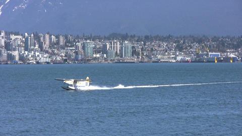 Float Plane Landing Footage