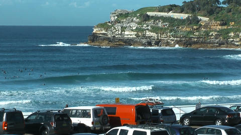 bondi beach in sydney Footage