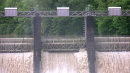 Technical dam Stock Video Footage