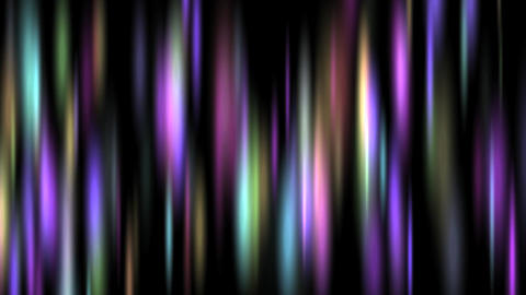 Aurora Lights - Background Loop stock footage