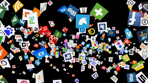 Social Media Confetti Explosion - 07 Animation