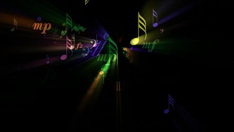 Musical Fantasy II - Loop Stock Video Footage