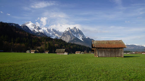 Bavarian Alps Stock Video Footage