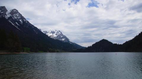 Lake in Austrian Tirol Stock Video Footage