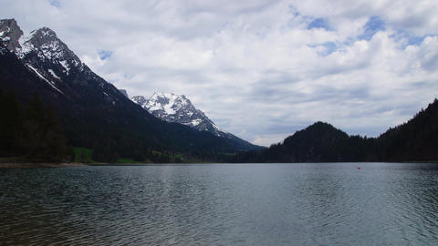 Lake in Austrian Tirol Footage