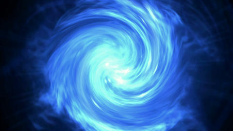 swirl cyclone,rotation energy tunnel,blue... Stock Video Footage
