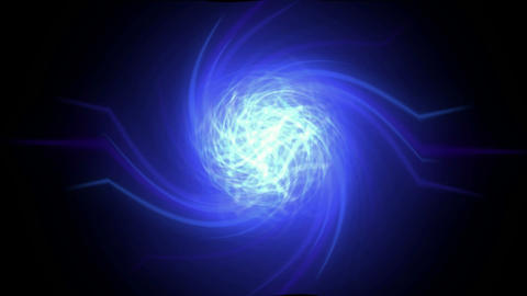 rotation ball launch swirl rays laser light enter time... Stock Video Footage