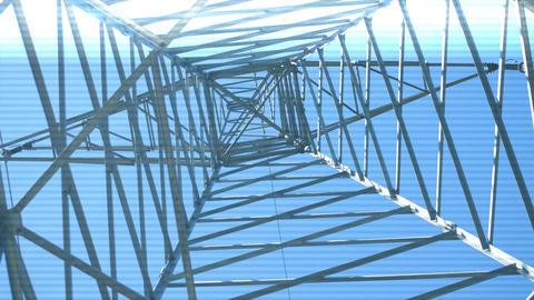 Power Line Surveillance Footage