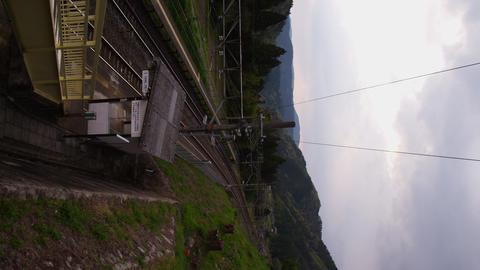 長野県 田立駅周辺 ビデオ