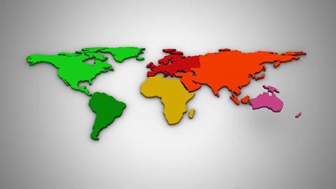World Map Animation Animation