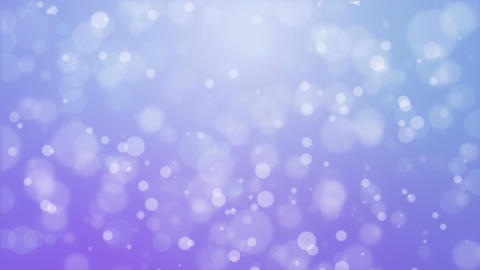 Purple blue background with moving particle lights Animation