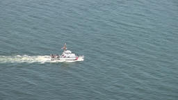 Coast Guard Patrol Ship Footage