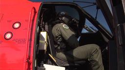 Coast Guard pilot Footage