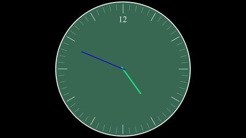 Running Clock Time-lapse photo-jpeg Animation