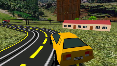 Slot Turbo Cars Racing Animation