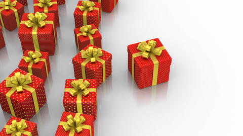 Animated Gift Boxes Animation
