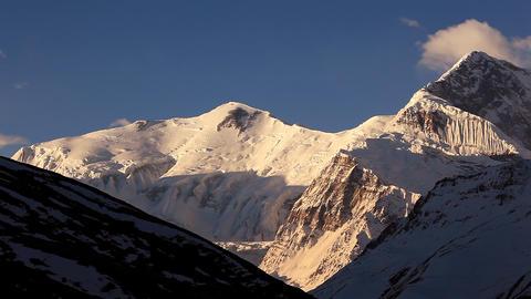 Annapurna III Blue Sky Footage