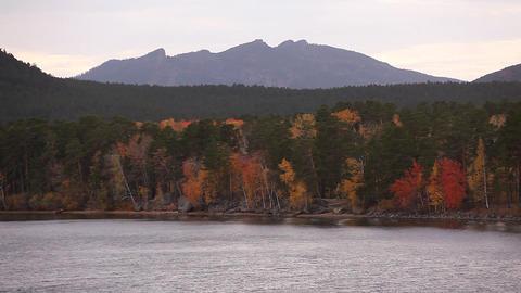 Autumn landscape burabay Footage