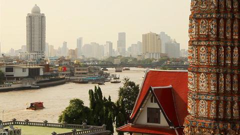 Bangkok Chao Praya Footage