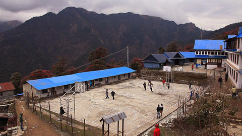 Basketball in Gorepani Footage