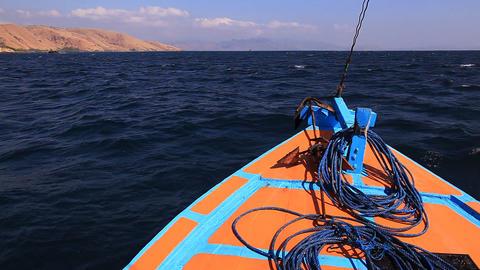 Boat Waves Sea Footage