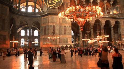 Hagia Sophia Footage