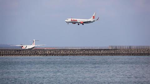 Landing Lion Bali Footage