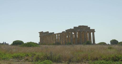 Selinunte, Hera Temple Acropolis Footage