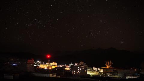 Star Sky Time Lapse Footage
