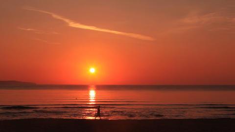 Sunrise Black Sea Footage