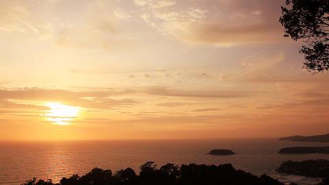 Sunset Phuket Footage