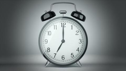 Classic alarm clock bells ringing Footage