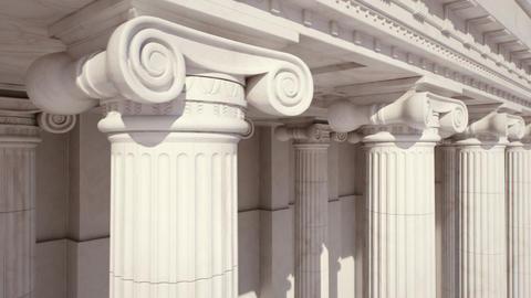 Marble Columns. Loopable Footage