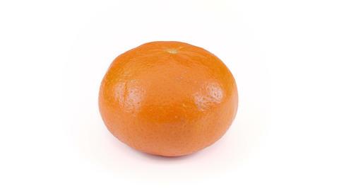 Mandarin orange rotating seamless Footage