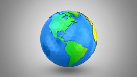 Rotating of Earth, Banco de Videos Animados