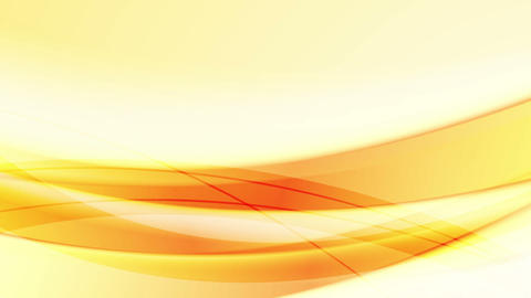 Orange abstract waves video animation Animation