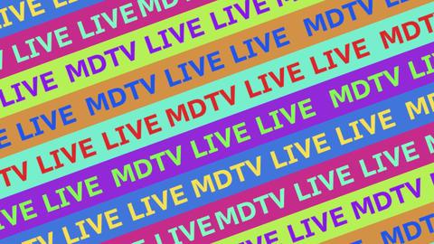 MDのTV のLIVEっぽいトランジション